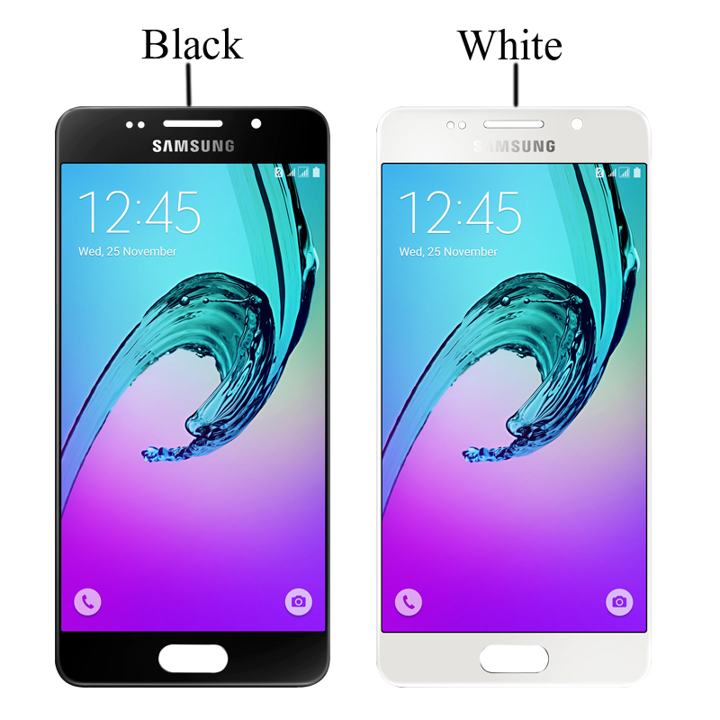 SUPER AMOLED 4.7'' LCD For SAMSUNG Galaxy A3 2016 A310 A310F A3100 LCD Display Touch Screen Digitizer Assembly+Service package
