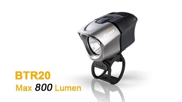 Бесплатная доставка оптовых Fenix BTR20 CREE xm l T6 нейтральный белый 800 люмен с BA2B аккумуляторная Батарея пакет свет велосипеда