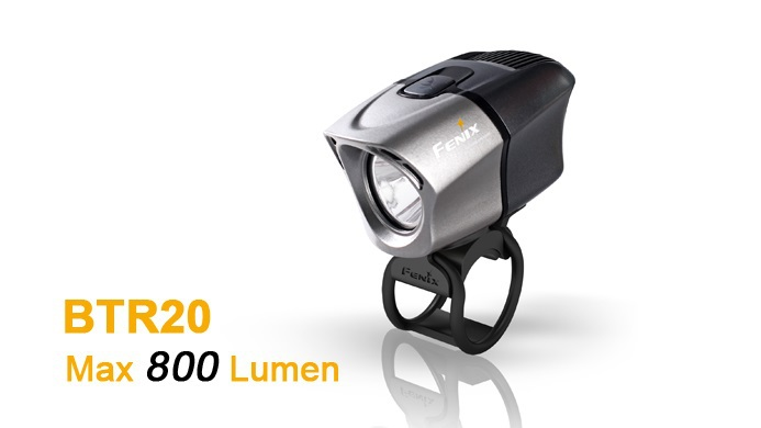 Free shipping wholesale Fenix BTR20 Cree XM-L T6 Neutral White LED 800 lumens with BA2B Rechargable Battery Pack Bike Light фара для велосипеда fenix bc30 cree xm l t6 nw cr123a 18650 mtb