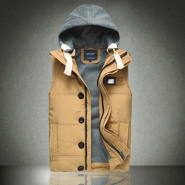 Free shipping plus size 6XL XXXL 4XL 5XL Small cotton vests cotton vest waistcoat outerwear brand down coat polo winter snow