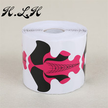H.L.H Nail Extension Nail Art Foils Tips Extension New Professional Acrylic U Shape Sticker For DIY Polish Gel French Tips Tools