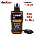 Автомобильный Диагностический Сканер OBD2 Подушка Безопасности ABS SAS FOXWELL NT630 Двигатель Code Reader подушка безопасности Сброс Данных Краш Автомобильное средство диагностики