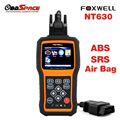 Scanner De Diagnóstico automotivo FOXWELL NT630 SAS Motor Code Reader OBD2 Airbag ABS Air bag Acidente de Redefinição De Dados Ferramenta de diagnóstico Do Carro