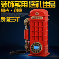 Good Xinyi European antique phone fashion new Vintage American household fixed telephone Decoration home classical ID backlit