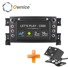 4G SIM LTE 1024*600 Quad Core Android 6.0 Car DVD Player for SUZUKI GRAND VITARA 2005 – 2011 Radio BT 4G wifi 2GB RAM 16GB ROM