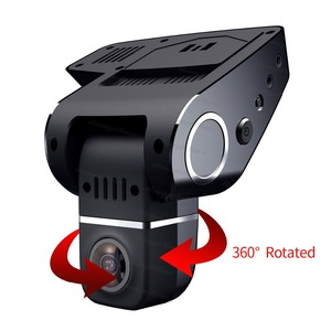 "Image 4 - Range Tour C10s Plus Mini Car DVR 360 Degree Rotated Dash Cam Dual lens  Front 1080P Rear 480P Video Recroder 2"" Screen Display"