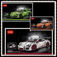 IN STOCK NEW 2726PCS DECOOL 3368 Technic Series 911 GT3 RS Model Building Kits Minifigures Blocks