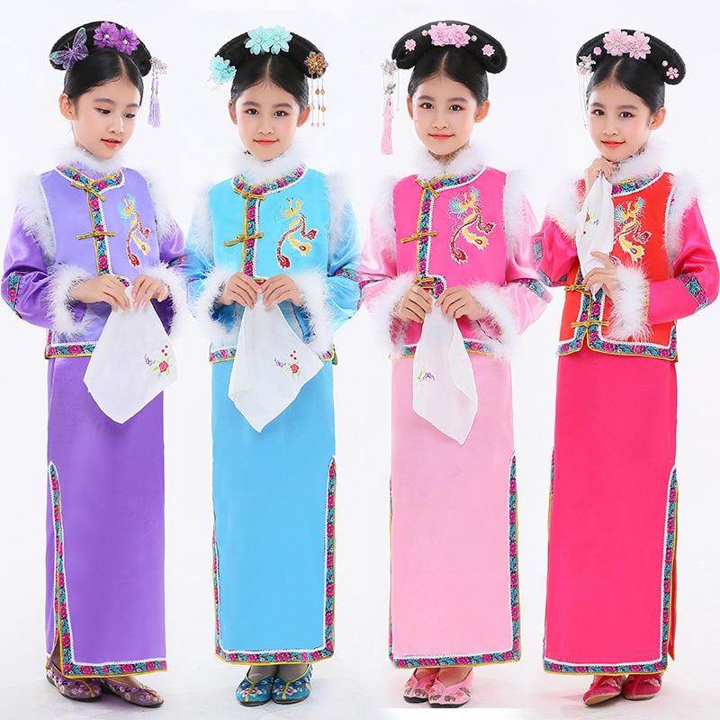 Arrival Kids Chinese Ancient Boy/'s Tradition Infanta Dramaturgic Dress Robe 2019
