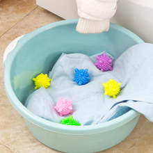 20Pcs Anti-winding Laundry Ball for Household Cleaning Washing Machine Clothes Softener Starfish Shape Solid Balls