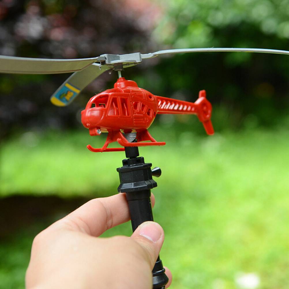 Handle Pull The Plane Aviation Funny Cute Outdoor Toys For Children Baby Play Gift Model Aircraft Helicopter