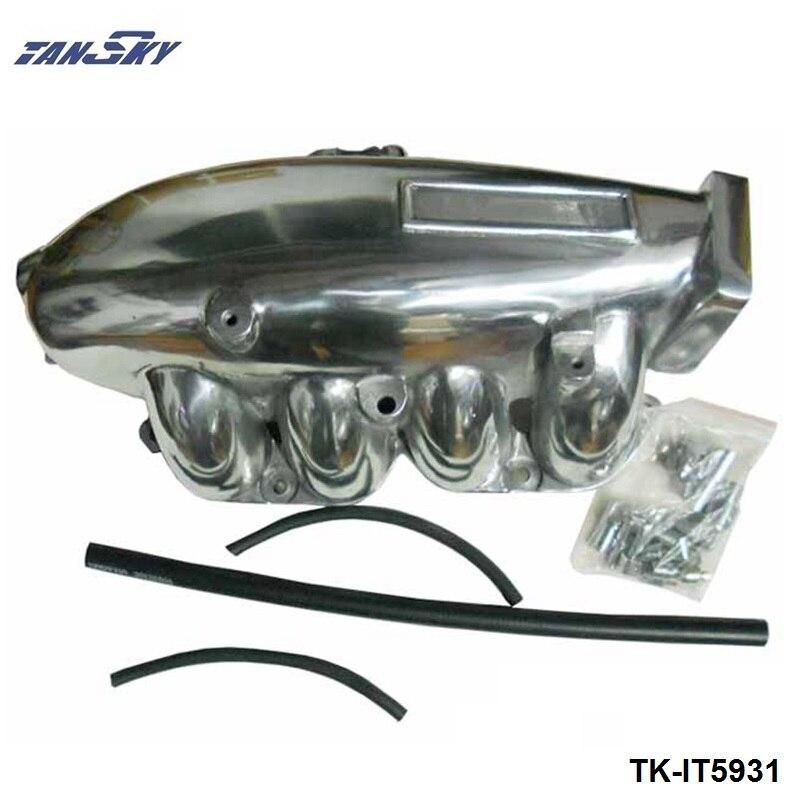 TANSKY - Engine Swap Turbo Intake Manifold For Nissan SR20 S14/15 High Performance Polished TK-IT5931 tansky engine swap turbo intake manifold for nissan sr20 s13 high performance tk it5930s