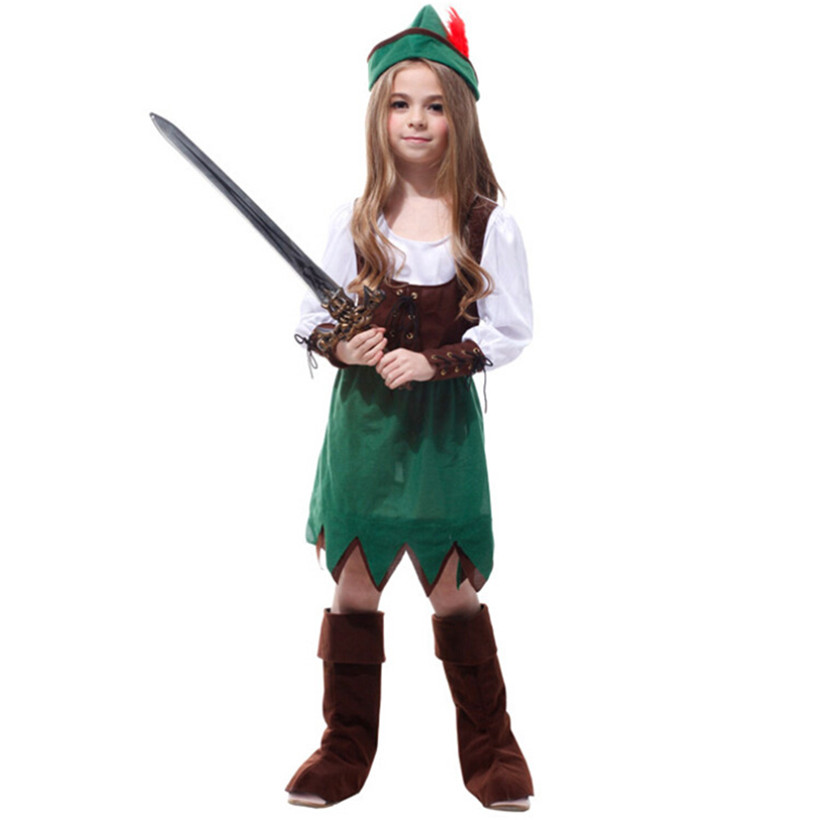 Coulhunt 2017 girl pirate cosplay costume child cool for Cool halloween costumes for kids girls