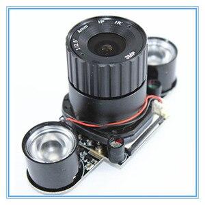 Image 2 - ラズベリーパイ 3 B + 5MP カメラ IR CUT 5MP 72 度焦点調節可能な長さのナイトビジョンノワールカメララズベリーパイ 3 モデル B +