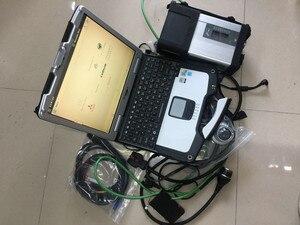 Star diagnosis mb star c5 para panasonic toughbook cf30 ordenador portátil 4g software de pantalla táctil 2020,06 hdd 320gb escáner para coche camión