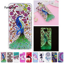 Soft Case For Huawei Y5 2017 MYA-L22 MYA-U29 Unicorn dog Luminous Silicon TPU phone case For Huawei Maya Y 5 2017 MYA-U29 Capa(China)