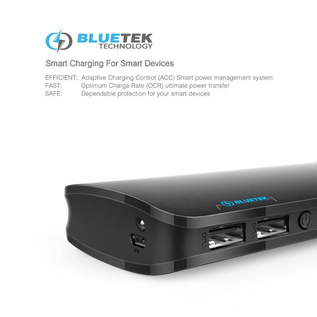 TeckNet PowerZen 2nd Power Bank 16750mAh Dual 2 Port USB Portable Charger External Battery Pack Smart IC Mobile Phone Powerbank