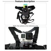 SnowHu j-крюк Пряжка поверхностное крепление для Gopro аксессуары 1 шт. для Go Pro Hero 8 7 6 5 4 Xiaomi Yi SJCAM Экшн-камера GP20 3