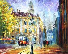 palette knife oil painting  modern oil painting canvas oil painting  K469