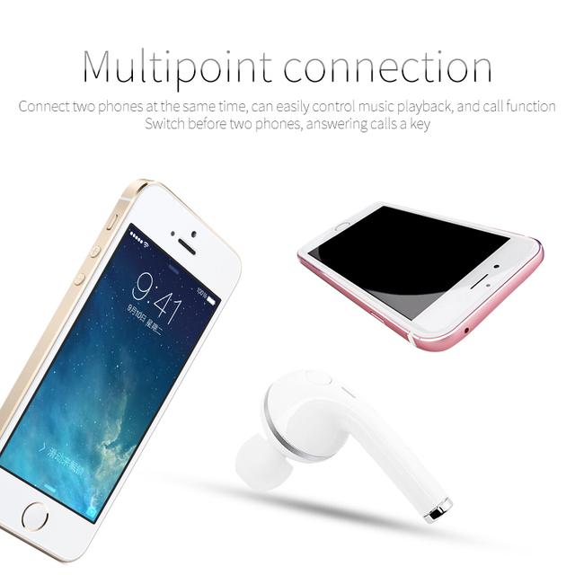 YODELI i9s Wireless Airpods Bluetooth Headphones Mini Earbuds Stereo Single Ear Earphone Handsfree Headset For Mobile Phones