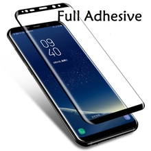5D Curved For Samsung Galaxy A9 A8 star Full Adhesive Gel film samusng A7/6 2018 plus Glass Glue Screen Protector
