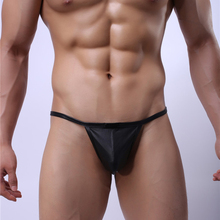 Leather Mens Sexy Thong