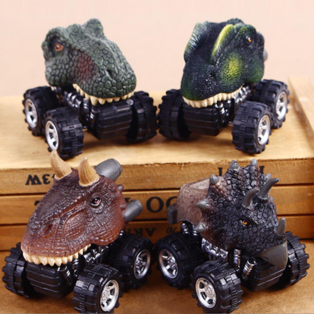 Dinosaur Toys Car Model Lovely Animal Shape Car Toy Baby Dinosaur Shape Wind UP Car Toy For Baby Kids Best Gift