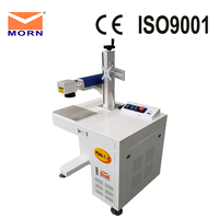 Fiber laser metal marking machine laser printer engraver 20W for sale