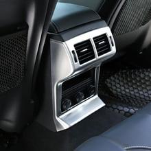 lsrtw2017 Pearl chrome abs car armrest vent trims for jaguar f-pace 2016 2017 2018 2019