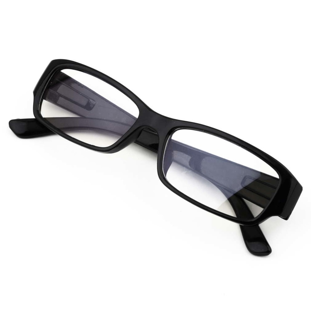 Anti Blue Rays Computer Reading Glasses Black Frame Stylish Unisex Radiation Resistant Glasses anti-fatigue goggles Blue Film