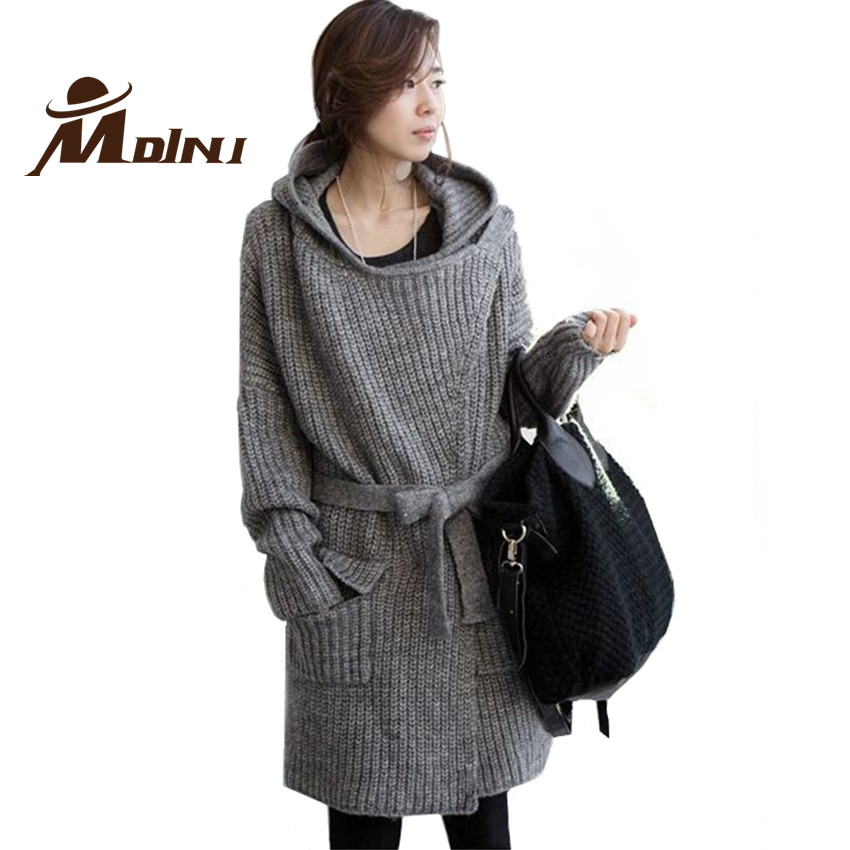 Knitting Patterns Long Cardigan Coat : Aliexpress.com : Buy Women Outerwear Coats Knitted Sweater ...