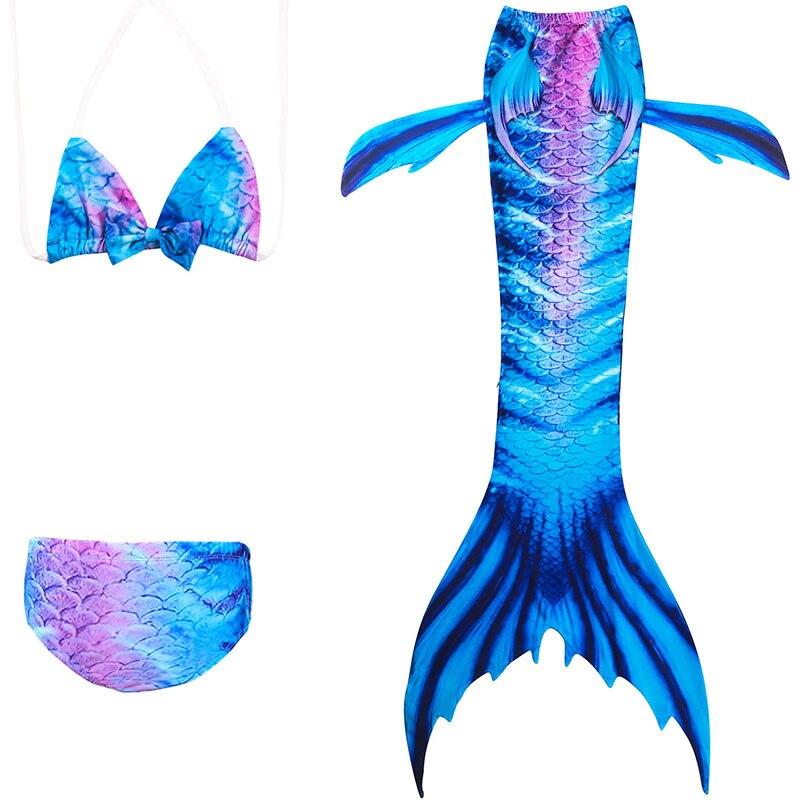 girls mermaid tail swimwear 1-1-1