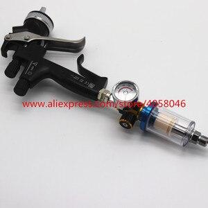 Image 3 - Pistola de pulverización para arañazos, manómetro de regulador de aire y trampa de agua en línea, herramienta de filtro, PISTOLA DE PULVERIZACIÓN, tabla reguladora de presión dedicada, 1 Uds.