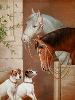 Новый мозаика Алмаз вышивка бисером С лошади и собаки животных алмазов вышивки крестом картины ручной работы комплекты декор оптовая