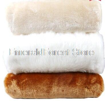 100% Waar Korte Harige Verdikte Countercloth Displays Decoratieve Sieraden Achtergrond Tafelkleed Handgemaakte Diy Stof 50 Cm * 160 Cm