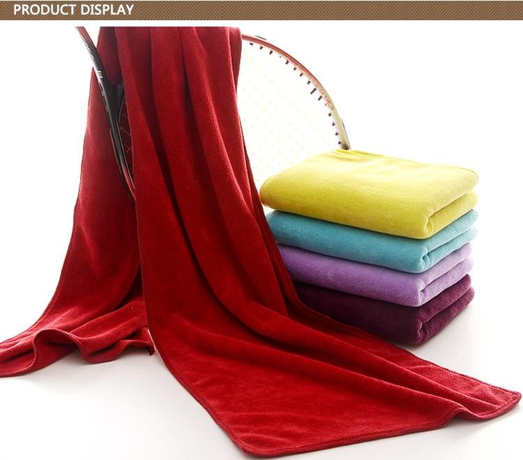Basketball Sweat Towels: Wholesale 3pcs/lot 30*120cm Microfiber Towels Fitness