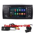 Android 5.1 ПК Автомобиля Tablet двойной 2din аудио для BMW E39 E53 с Wi-Fi 3 Г Quad 1024X600 Bluetooth Радио RDS USB SD Свободной камеры