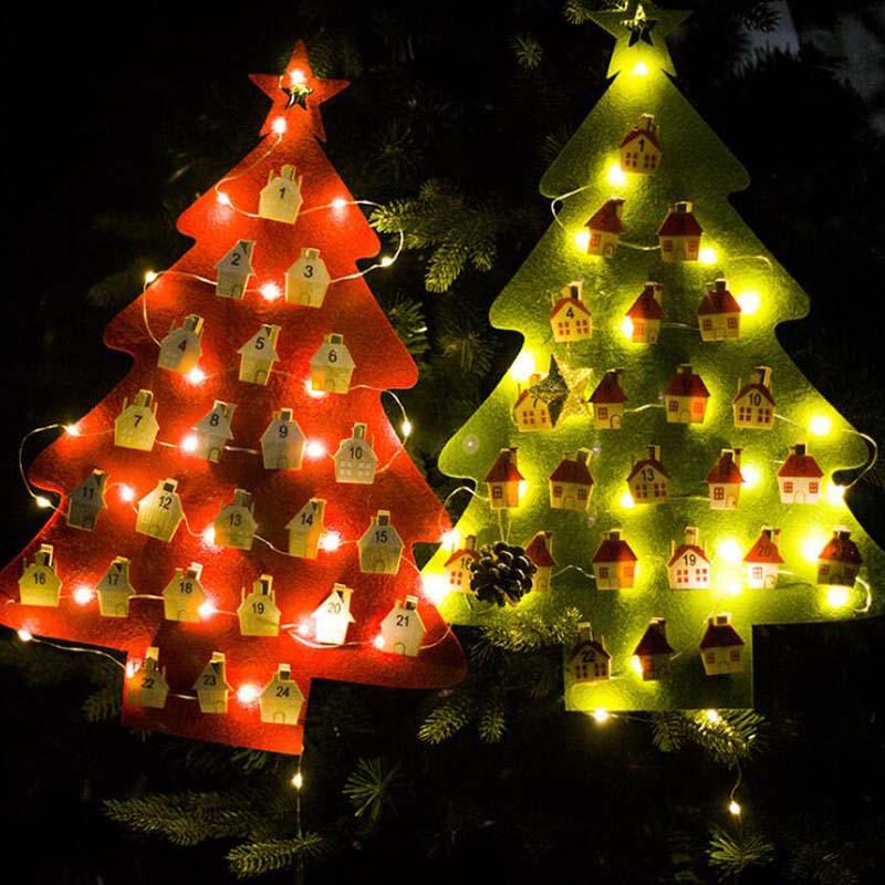 Product & 1set LED Christmas Tree Merry Christmas Home Decoration Creative ...