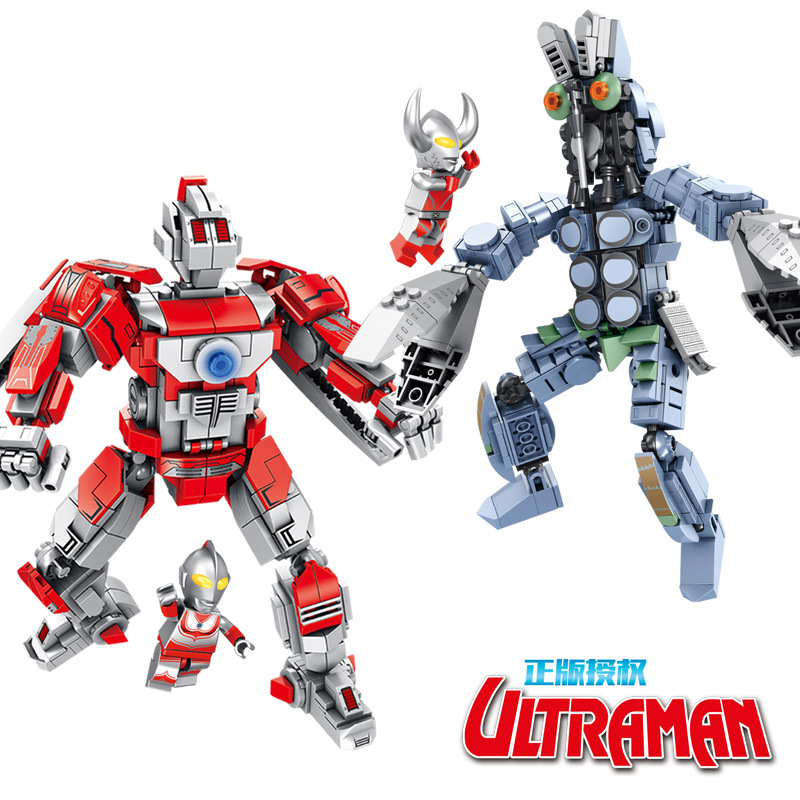 Genuine Creator Star War Robot M78 Ultraman Vs Tyrant Building Blocks Sets Kids Classic Marvel Model Toys Compatible Legoings Model Building
