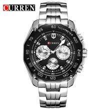 Curren montres hommes quartzwatch relogio masculino de luxe militaire montres mode casual Résistant À l'eau armée sports8077