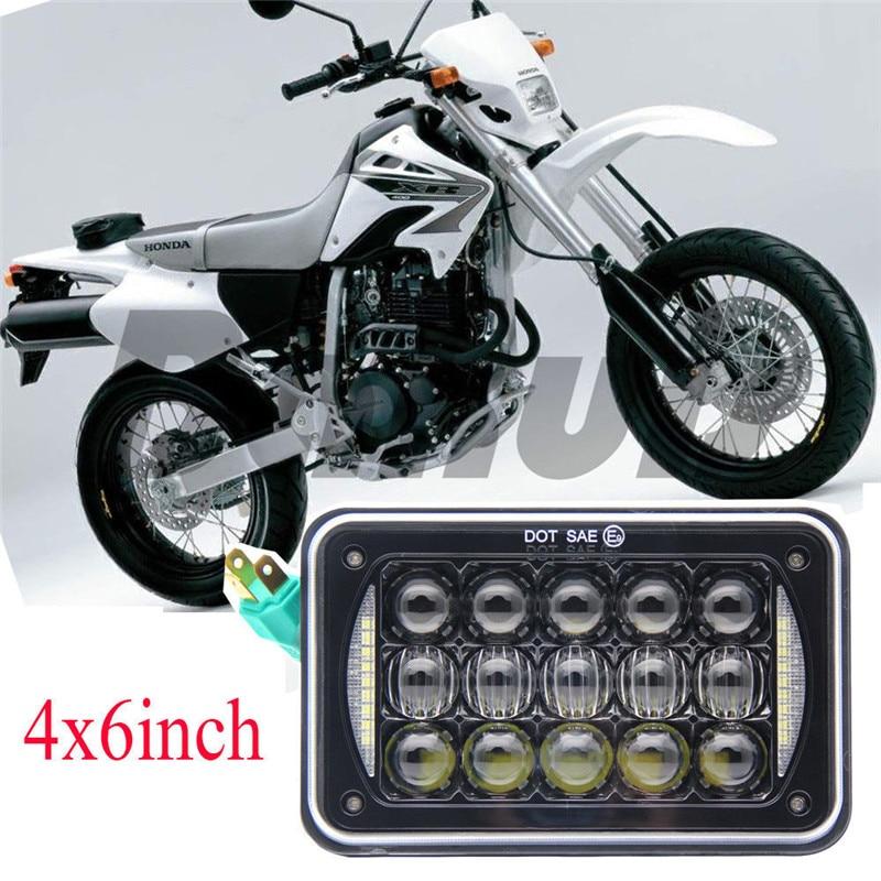 4x6 LED Mini Motorcycle Turn Signal Light Indicator Yamaha Kawasaki Suzuki Honda