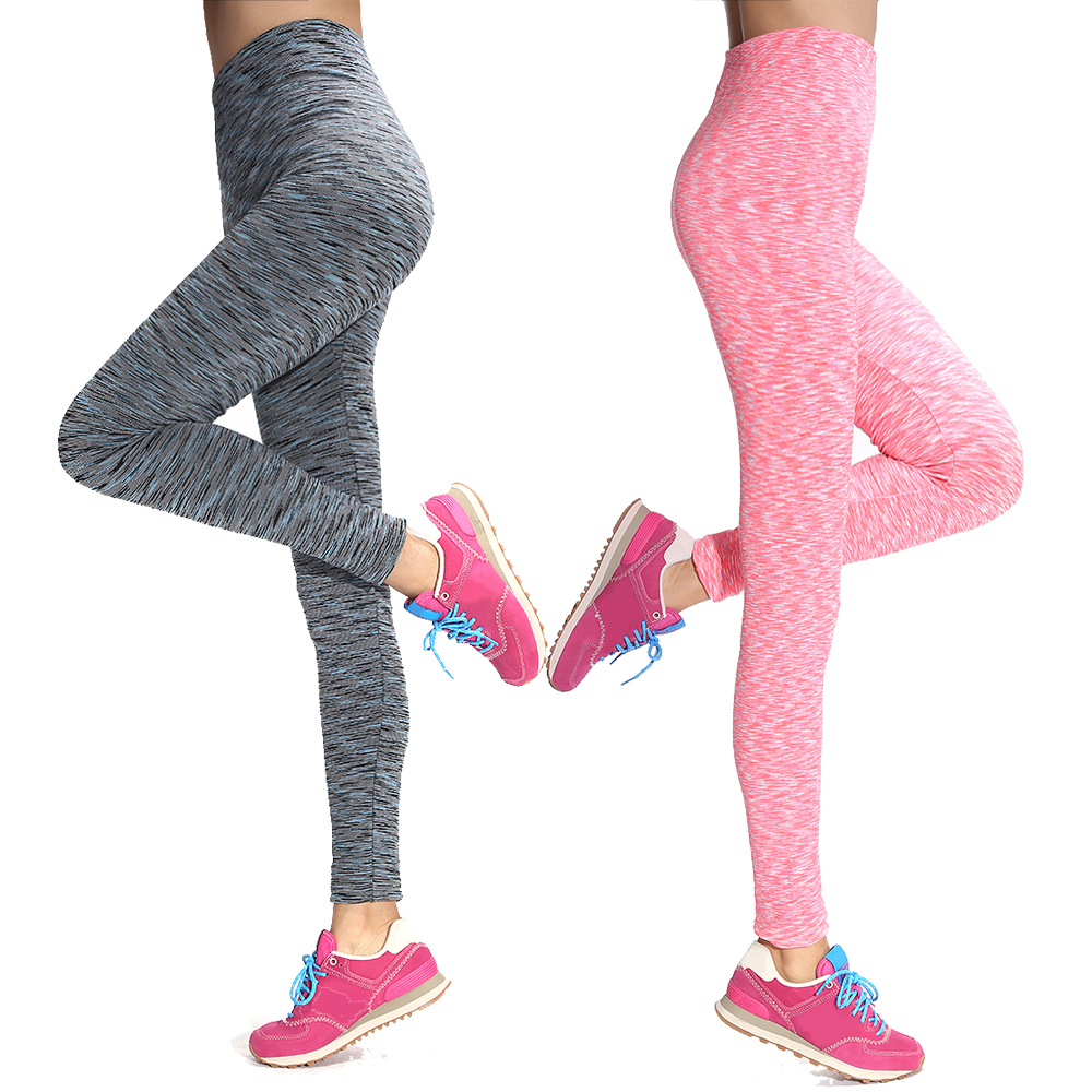 2016 Womens Fashion Elastic Leggings Fitness Work Out Leggings Skinny High Waist Leggins Slim Stretch Push Up Fitness Leggins XL