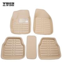 Universal car floor mats for toyota rav4 corolla aygo camry mark prado land cruiser prius highlander Fortuner car mats