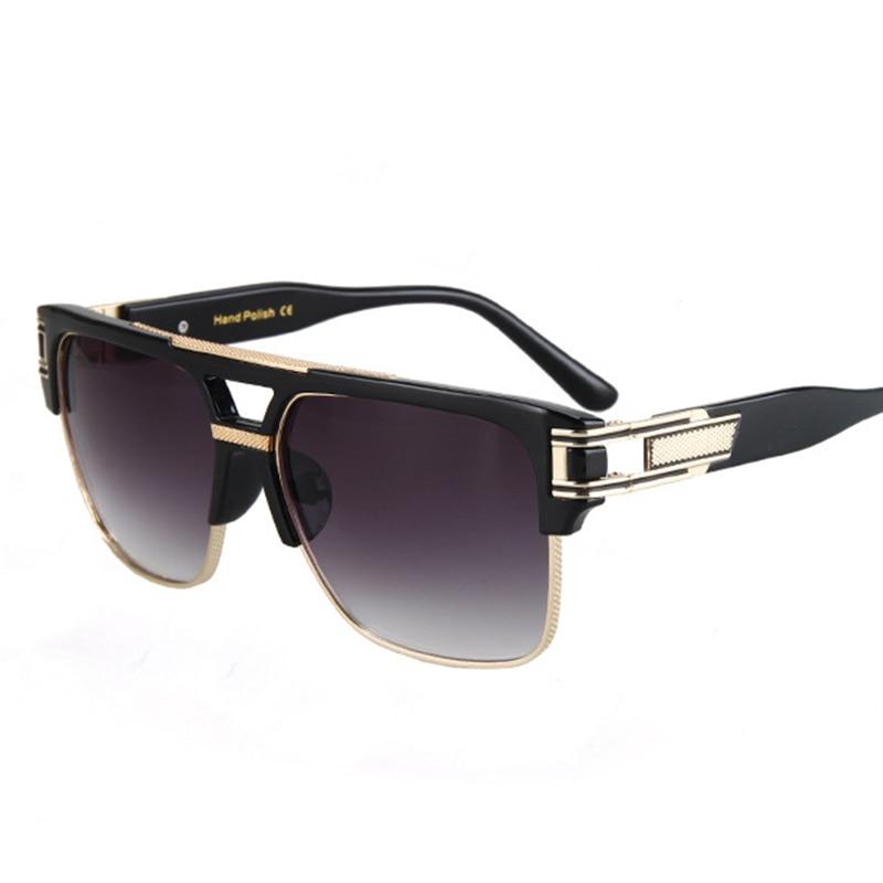 Fashion Luxury Solglasögon Män Kvinnor Märke Designer Semi Rimless - Kläder tillbehör - Foto 2