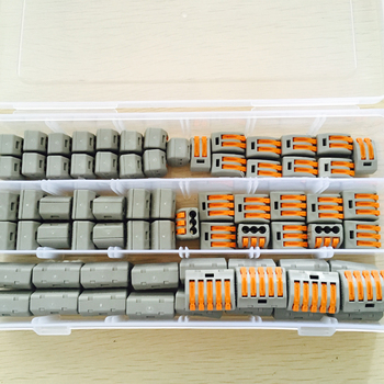 (25) 222-412 (25) 222-413 (20) 222-415 Lever Nut Assortment Kit Wire Terminal Nut фото