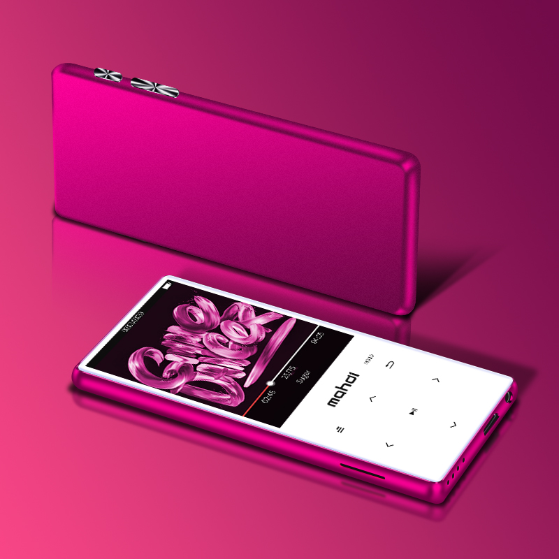 Hifi-player Mahdi Bluetooth 4,1 Touch Bildschirm Metall Mp3 Player Bulit-in Lautsprecher Mit Fm Radio Aufnahme Tragbare Schlanke Verlustfreie Sound Walkman Mit Einem LangjäHrigen Ruf Unterhaltungselektronik