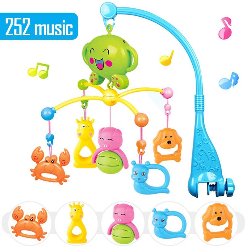 0 12 meses do bebe sino cama musica brinquedos para as criancas meninos meninas em 360