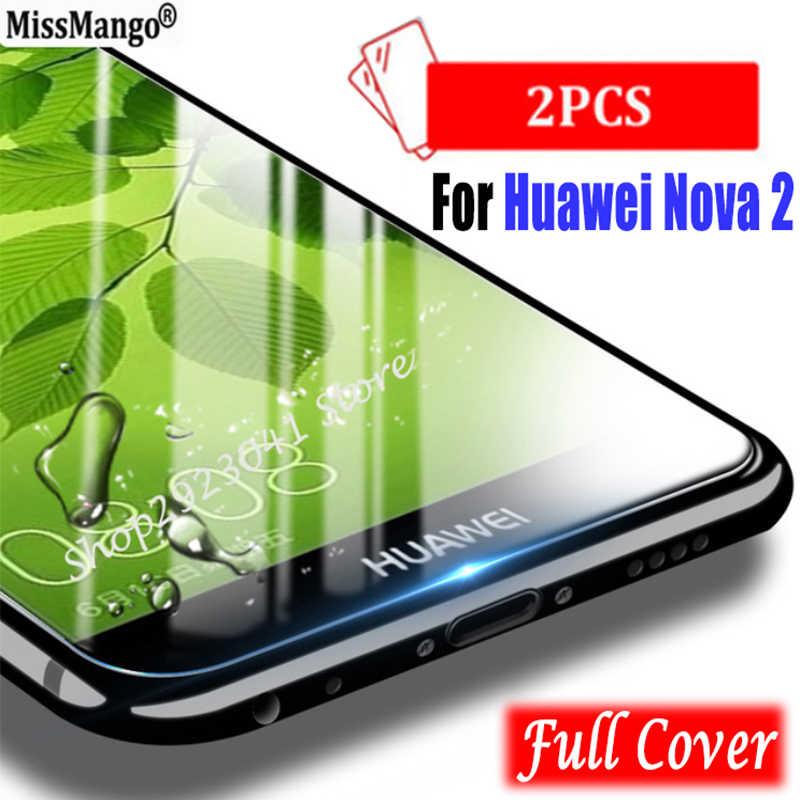 """2 шт./лот, для huawei Nova 2 Nova2 закаленное стекло для huawei Nova 2 5,0 """"Защитная пленка для экрана 3D полное покрытие закаленное стекло"""