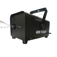 Stage Effect Fog Machine 400 Watt Fog Chiller With Wireless Remote Mini Portable Smoke machine Systems for KTV, Bar ,Club, Party