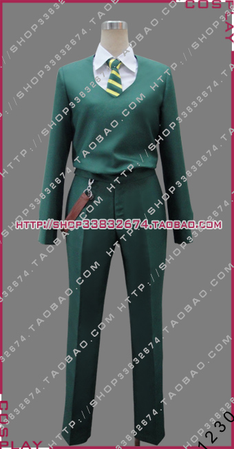 2016 destin rester nuit zéro ondulation velours vert Halloween ensemble Costume Cosplay