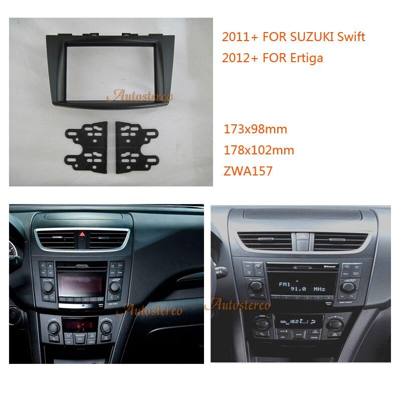 Car Radio Fascia For Suzuki Swift 2011  Ertiga 2012